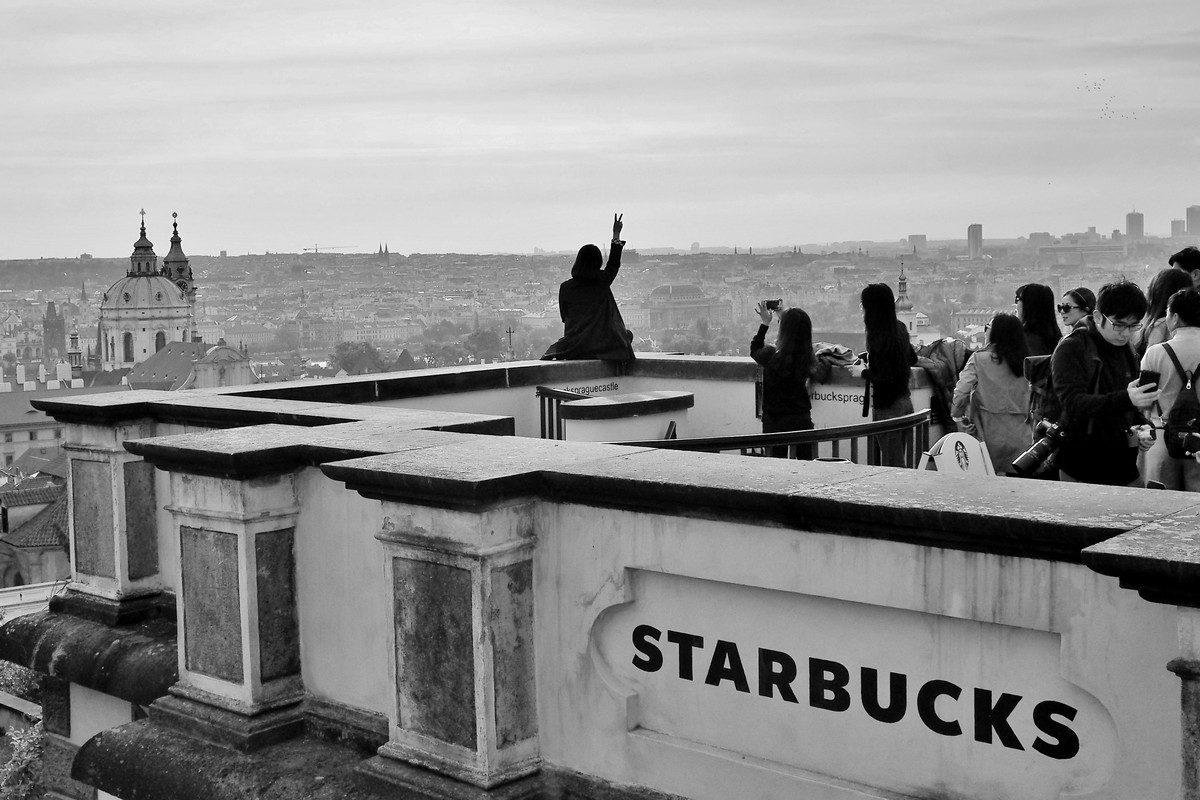 Starbucks sur Prague